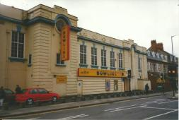 The Brighton Cinema now a bowling Alley